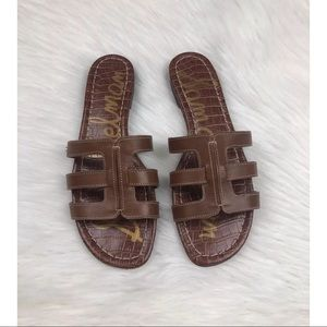 Sam Edelman Berit Slide Sandals Brown ~Size 8~